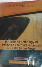 The Likhaan Anthology of Philippine Literature in English from 1900 to Present