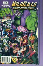 Wildcats Sourcebook #1 Golden Newsstand $1.95 Price Variant B Image NM/M 1993