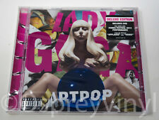 Lady Gaga ARTPOP Deluxe Edition CD/DVD Factory Sealed Itunes Festival 2013
