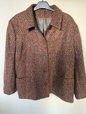 Ladies Autumn Retro Trendy  Berkertex Boucle Coat 16-18-20-22