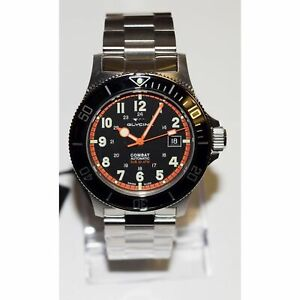 Glycine 3908.19AT.N.MB Men's Combat Sub Black Automatic Watch