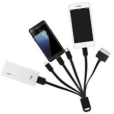 6 in 1 Multi USB Charging Cable for iPhone, ipad and Android Smartphones, Cha...
