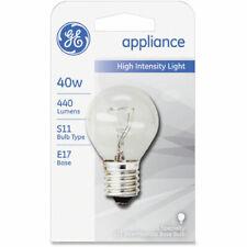 Ge 40-watt Incandescent Light Bulb - 40 W - 120 V Ac - Clear - E17 Base -