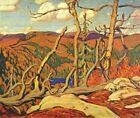 Handmade Oil Painting repro  J.E.H. MacDonald Northland Hilltop
