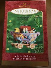 Hallmark Keepsake Ornament Safe In Noahs Ark 2000 Tammy Haddix New NIB