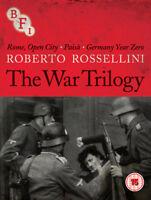 Roberto Rossellini: The War Trilogy Blu-Ray (2017) Aldo Fabrizi, Rossellini