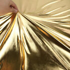 bronzing Spandex Fabric Material glossy leather stretchy fabric 1 Yard