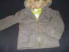"""Manteau """"VertBaudet"""" kaki, pour fille , mi saison taille 4 ans"""