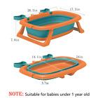 Baby Bath Tub Foldable Toddler Shower Basin Portable Infant Washing Tub