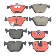 NEW Front and Rear Disc Ceramic Brake Pad Set Kit Brembo For BMW E60 530xi 525i