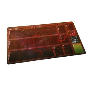 Android Netrunner LCG  Playmat -  Anarch Runner Red