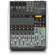 More details for behringer qx1204usb premium 12 input 2/2 bus mixer with xenyx mic, preamps and