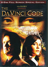 THE DA VINCI CODE ~ DVD ~ NEW