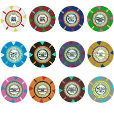 NEW 300 PC Claysmith The Mint 13.5 Gram Clay Denomination Poker Chips Bulk Lot