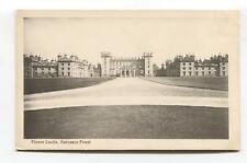Floors Castle, Roxburghshire - country house - old postcard