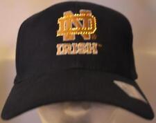 Notre Dame ND Fighting Irish Fiber Optic Hat,Cap,New,Adjustable,Led,ND Irish,Blu