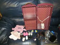 Samantha's Steamer Trunk American Girl Doll Clothes