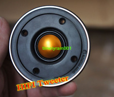 2pcs HIFI speaker gold Dome tweeter For monitor bx2 TBX025