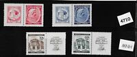 1941 Stamp complete set / MNH Third Reich /  Wolfgang Mozart Germany Occupation