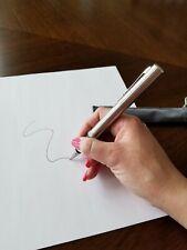 New Zippo PEN Black Ballpoint Pen with Gift Bag. Very Rare. Refillable ink