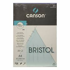 Canson Bristol Pad Gráfico Papel 250gsm A4