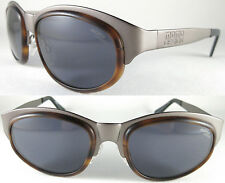Rare Momo Design Sunglasses for men Solid quality, Spring hingies, metal/Brown *