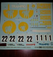 """Trampio/Ciesse Piumini"" decal from Tamiya Ford Sierra RS500 1/24"
