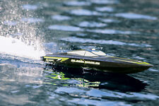 Black Marlin Rtr Rc Boat With Lithium Ion battery pack (Watch Video)