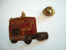 PINS TRANSPORT CAMION ROUGE TRUCK