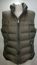 Bogner Fire & Ice Womens Down Insulated Puffer Ski Vest Jacket Size 12 42 Brown
