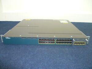 Cisco WS-C3560X-24T-E V06 - 3560-X Series - C3KX-NM-1G