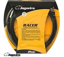 Jagwire racer racing road bike bicycle gear câble de frein kit blanc cables