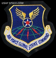 AIR FORCE GLOBAL STRIKE COMMAND -Barksdale AFB, LA -ORIGINAL USAF PATCH~LEATHER