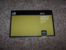 2010 Scion xB Release 7.0 2.4L 4Cyl Operator User Guide Owner Owner's Manual