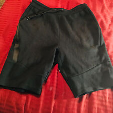 Nike Tech Fleece Shorts Large Preowned Black