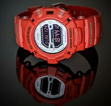 RARE Casio G-Shock Mudman Red Watch G-9000MX-4D Fresh BATTERY GREAT CONDITION!