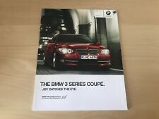 BMW 3 SERIES COUPE SALES BROCHURE 2010 - BRAND NEW