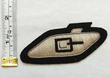 An Original Military RTR Tank Regiment Corps Bullion Cloth Formation Badge (4573