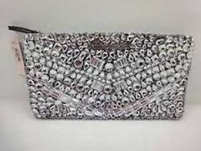 Victoria's Secret Limited Edition Jeweled and Silver Sequin Clutch Purse NWT