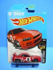 Hot Wheels 2016 Need for Speed...Night Burnerz...Nissan Skyline GT-R (R34)...RED
