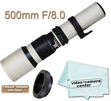 500mm TELEPHOTO F8.0 LENS FOR NIKON D3300 D5300 D5200 D610 D7100 D7000 D7100