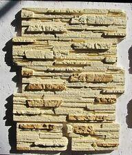 Polyurethane Molds for Concrete Plaster wall stone Form Gypsum Tiles silicone