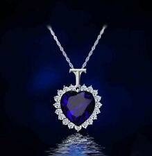 Stunning Titanic - The Heart of the Ocean - Blue Diamond Style Necklace Pendant