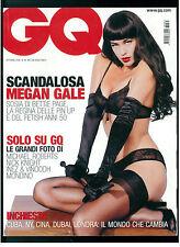 GQ ITALIA 85 OTTOBRE 2006 MEGAN GALE ELLE MACPHERSON MICHAEL ROBERTS NICK KNIGHT