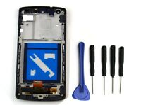 Para Lg Google Nexus 5 D820 D821 Táctil + Lcd Touch Screen Pantalla Marco Frame