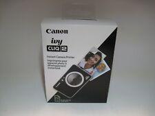Canon Ivy CLIQ 2 Instant Film Camera – Black CLIQ2
