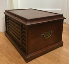 VINTAGE COIN COLLECTORS CABINET - 6 DRAWER - RARE