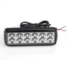36W Spot 12 LED Work Light Lamp Car Truck Boat Driving Fog Offroad UTE 4WD Bar
