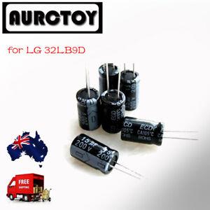 LCD Monitor Capacitor Repair Kit for LG 32LB9D for Power board repair AU seller