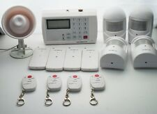 Wireless Security Burglar Alarm System Auto Dialer Call Numbers When Triggered